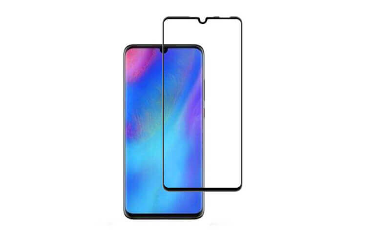 wholesale 2.5D full glue tempered glass screen protectors for Huawei P30 Lite