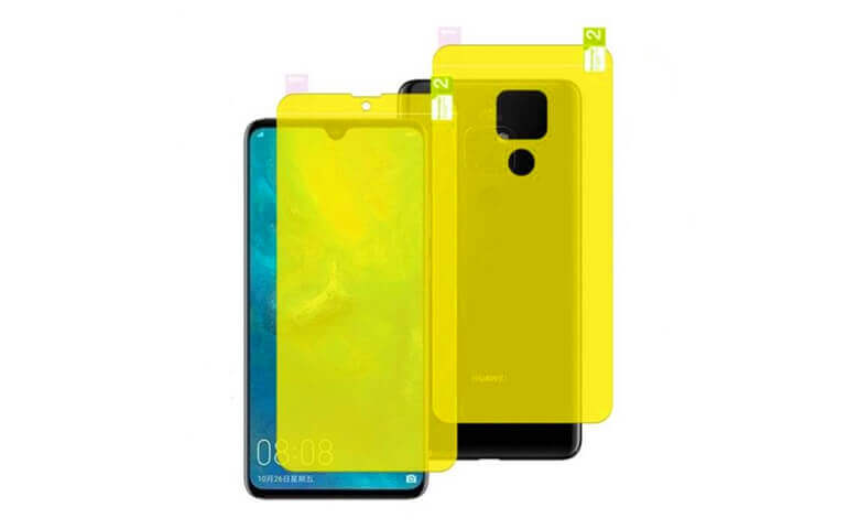 Wholesale Front and Back TPU Protectors for Huawei Mate 20 X