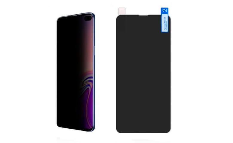 wholesale privcy TPU screen protectors for Samsung Galaxy S10 Plus