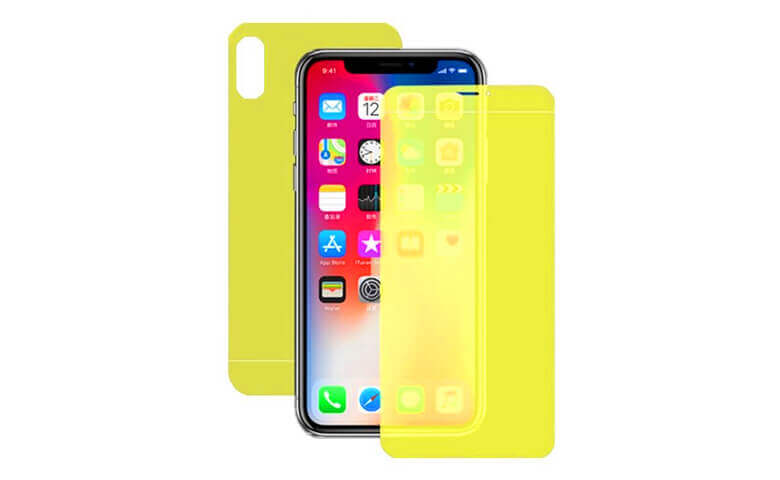 Wholesale Front and Back TPU Protectors for iPhone X