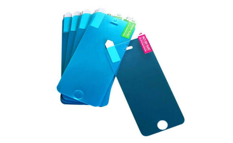 wholesale nano anti-crack screen protectors for iPhone SE