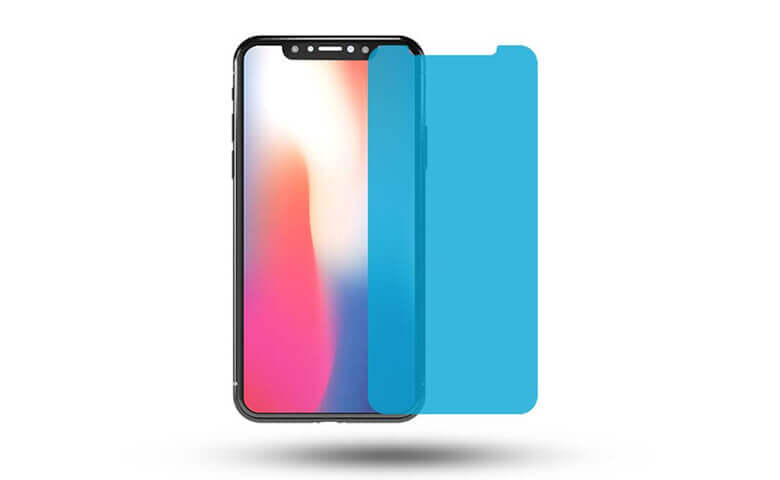 wholesale and OEM/ODM custom nano anti-crack screen protectors for iPhone X