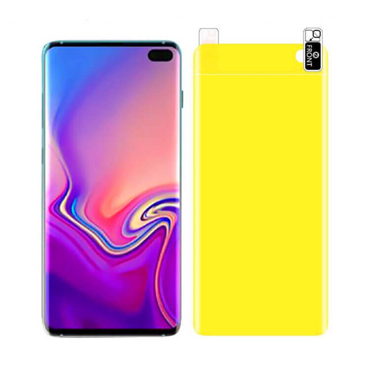 wholesale TPU screen and back protectors for Samsung S10 Plus
